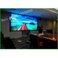 Wholesale P3 Rental RGB Stage LED Screen , Stage Video Screens Full Color Waterproof from china suppliers