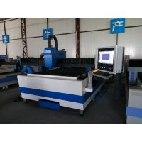 Wholesale High Efficiency Fiber Laser Cutting Systems , Fiber Laser Cutter Machine For Metal from china suppliers