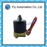 Wholesale Direct - Acting IP65 Water Solenoid Valves With NBR PTFE Seat Seal , Duty cycle 100% Continuous Rating from china suppliers