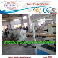 Wholesale 50 - 160mm PVC Pipe Manufacturing Machine Squar / Round Pipe from china suppliers