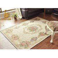 Wholesale Solid Design Kitchen Table Rugs , Living Room Floor Carpet No Shrinking from china suppliers