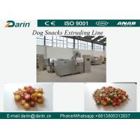 Wholesale DRD-100/DRD-300 Semi wet Pet dog treats / Dog dental chews food extruder machine from china suppliers