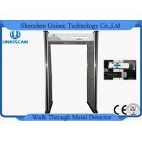 Quality Multi Colors Security Walk Through Metal Detector For Building Entrances for sale