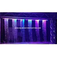 Wholesale Musical Interactive Rain Curtain Waterfall Digital Water Curtain Decorated from china suppliers
