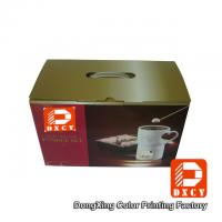 Beautiful Corrugated Small Rectangular Cardboard Boxes Eco For Food Package