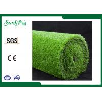 Buy cheap PP 15mm Environmental Friendly Artificial Lawn Turf Clean Backing from wholesalers