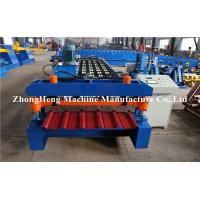 Wholesale 27/1000 Model Roofing Sheet Roll Forming Machine With Simons Reducer , Roll Former from china suppliers