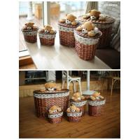 Laundry basket willow basket storage basket