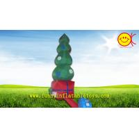 Wholesale Commercial Grade Giant Nice Printing Inflatable Christmas Tree , OEM Holiday Inflatables from china suppliers