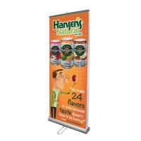 Wholesale Aluminium Alloy Double Sided Pull Up Banner 85×200 cm With Nylon Travel Bags from china suppliers