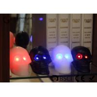 Wholesale Skull Shaped Safety Halloween Led Candles For Home Decoration 340g from china suppliers