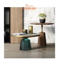 Wholesale Leisure Luxury Living Room Furniture , High End Round Coffee Table from china suppliers