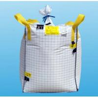 Buy cheap Corner cross 4 panel Type C FIBC , Flexible outspout bottom bulk bags from wholesalers