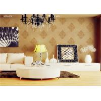 Wholesale Custom Made Economical Soft Glitter European Style Wallpaper For House from china suppliers