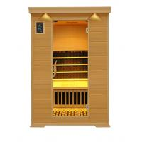 Wholesale 2people canadian hemlock  tourmaline infrared sauna room from china suppliers