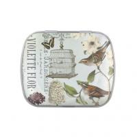 Wholesale The ellipse small Candy Tin Box With Double Sides Print For Gift Packaging from china suppliers