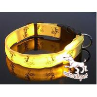 Quality Cute dog LED collar, for medium and small size dog for sale