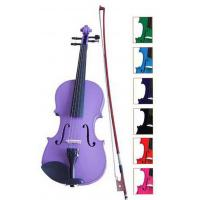 Wholesale Blue / Brown Classic Student Handmade Violin 1 / 8 Size With Ebonized Fingerboard from china suppliers