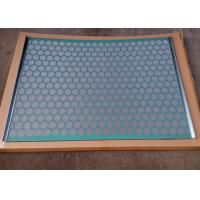 Buy cheap FLC2000 Hook Strip Flat Shale Shaker Screen with API 20-325 Mesh Count from wholesalers