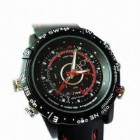 Wholesale Waterproof Watch Camera with 4GB Internal Memory from china suppliers