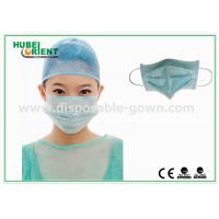 Wholesale Protective Disposable Face Mask / Non Woven Disposable Surgical Masks Free Samples from china suppliers
