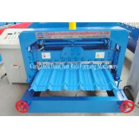 Wholesale Superior Colored Steel Roof Glazed Tile Roll Forming Machine 1 Year Warranty from china suppliers