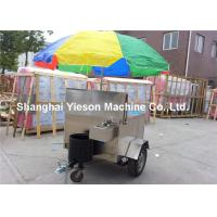 Wholesale Food Vending Trailers Stainless Steel Hot Dog Cart  For Chips from china suppliers