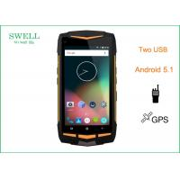 Wholesale Ruggedized Police Phone 5inch Octa core MSS8939 IP68 with 2 usb port from china suppliers