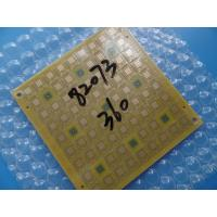 Wholesale Yellow Mask 0.6mm Via In Pad PCB 6 Layer For Bluetooth Transmitter from china suppliers