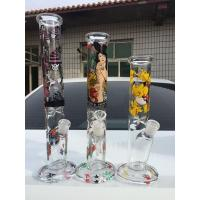 Buy cheap 2018 new  cyclone clean glass Bong Christmas tree shape percolator Glass bongs glass water pipes oil pipe from wholesalers