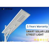 Wholesale Infrared Motion Sensor Solar LED Street Light With Solarworld Panel 8500 - 9000LM IP65 from china suppliers