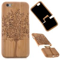 Wholesale Real wood factory eco friendly personalized wooden cell phone case for iphone 6, for iPhone 6 wooden case bamboo from china suppliers