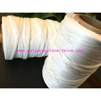Wholesale White Color Split Film Cable Filler Yarn 2mm - 30mm Diameter Winding On Tube Packing from china suppliers