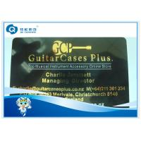 Wholesale Top Grade Instrument VIP Golden Plastic Card Printing Stamping Glossy Laminated from china suppliers