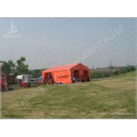 Wholesale Flame Retardant Orange Fabric Covered Structures Commercial Event Tents from china suppliers