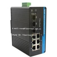 Wholesale 9 Port Industrial Fiber Switch Optical Media Converter POE 1000Base-Fx from china suppliers