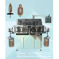 Wholesale Skewed armature rotor winder double flyer lap winding machine for straight slot skew slot from china suppliers