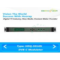 Wholesale High Integrated CATV QAM Digital TV Modulator 47MHz - 870MHz with MUX - Scrambler from china suppliers