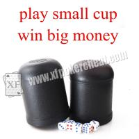 Wholesale Black Plastic Electronic Dice Cup Cheating Device For Dice Games from china suppliers