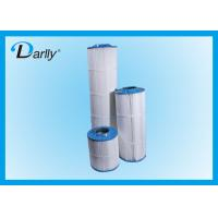 Quality Darlly Pleated Home Water Filter Cartridge with PU / Plastisol End Cap for sale
