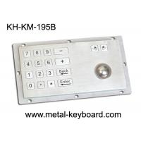 Wholesale Panel Mount Industrial Industrial Keyboard with Trackball , 16 Keys Digital Keyboard from china suppliers