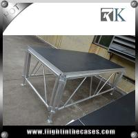 Wholesale used portable staging mobile folding stage for trade show used stage for sale from china suppliers