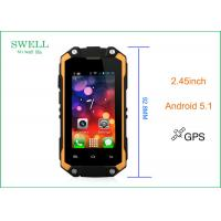 Wholesale Small 2.45 Inch Android 5.1os IP65 Rugged Outdoor SmartPhone DDR1G + 8GB Flash from china suppliers