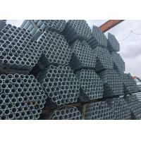 Buy cheap Carbon Steel Galvanize S235JR Welded Steel Round Tubing , Mechanical Seamless Steel Tubing from wholesalers