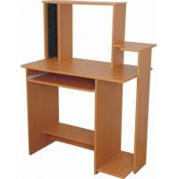 Wholesale Functional Wooden Computer Desk Exquisite PB / MDF With Shelf DX-8539 from china suppliers