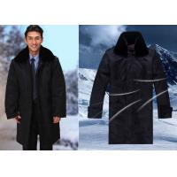 Wholesale Winter Security Guard Uniform Coat / Wind Resistant Coat With Two Pieces Set from china suppliers