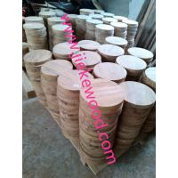 Buy cheap sell walnut  round table from wholesalers