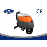 Quality Automatic Floor Scrubber Dryer Machine 180 Rpm Brush Speed One Key Control for sale