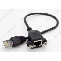 Wholesale Ethernet Panel Mounted Male To Female Signal Cable ISO9001:2008 RoHS Compliant from china suppliers