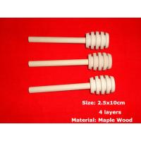Wholesale Solid Wooden Honey Dipper 100% Natural Honey Dippers Wooden Honey Stick Pack Honey Dipper Wedding Favor Genuine 10x2.5cm from china suppliers